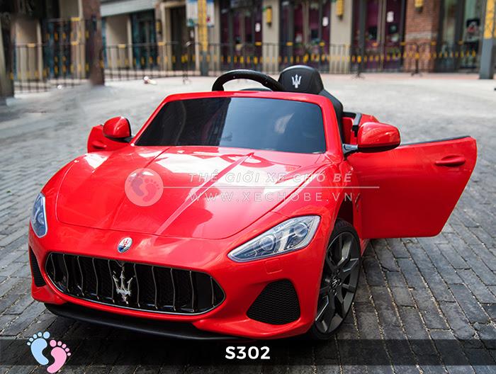 Ô tô cho trẻ em cao cấp Maserati S-302 18