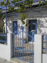 Photo: Tyypillinen kreikkalainen talon väritys