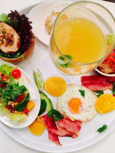 非常豐盛的早午餐,每一道餐點都小巧精緻。