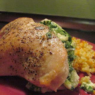 Jenny's Feta and Spinach Stuffed Chicken Breasts