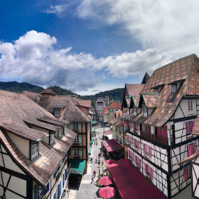 French Village of malaysia by Mohammad Khairizal Afendy - Instagram & Mobile Other ( holiday, history, building, park, french village, recreation,  )