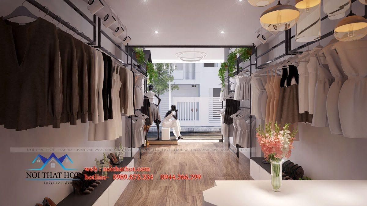 thiết kế shop thời trang nữ mitana 5