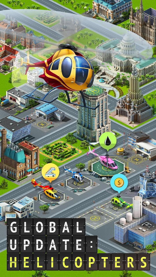 Airport City: Airline Tycoon v6.4.21 Mod