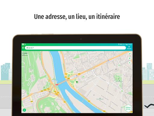 Mappy u2013 Plan, Comparateur du2019itinu00e9raires, GPS  screenshots 7