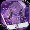 Purple Galaxy Dream Catcher Keyboard APK