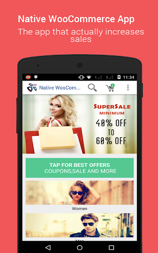 Native WooCommerce App