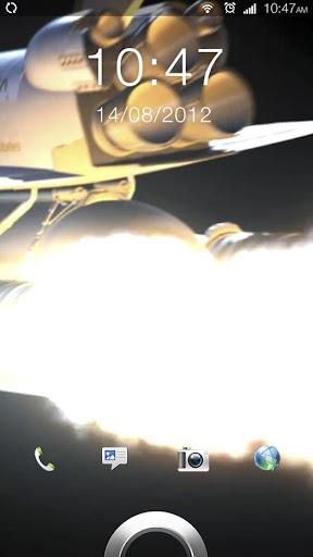 Space Shuttle Live Wallpaper