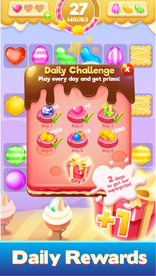 Toons Toy Blast Crush puzzles-pop the cube- screenshot