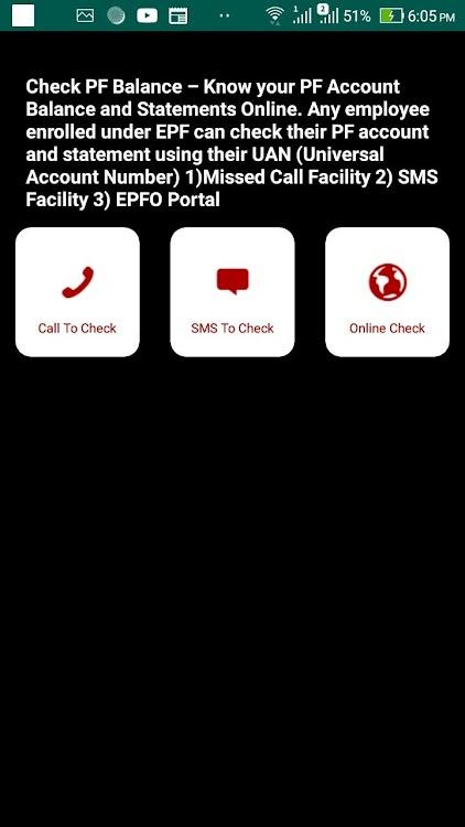 EPF Passbook, EPF Balance, PF Claim Status & UAN – (Android Apps
