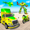 Car Robot Transport Truck Driving Games 2020 icon