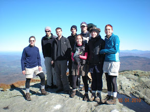 Photo: On top of Mt. Mansfield, highest point in Vermont