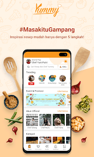 Yummy App by IDN Media - Aplikasi Resep Masakan Screenshot