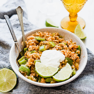 Reverse Stuffed Peppers and Brown Rice Bowl Recipe