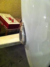 Photo: cablage et mise en place strobe