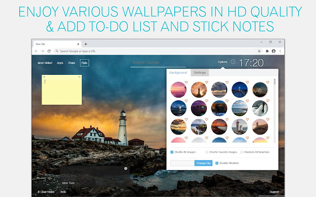 Lighthouse Wallpaper HD Lighthouse New Tab