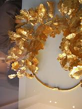 Photo: Gold oak wreath. 350-300 BC Coban Tepe near Pinarbasi