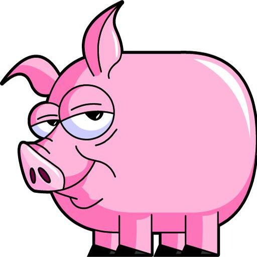無料の豚おならジョーク