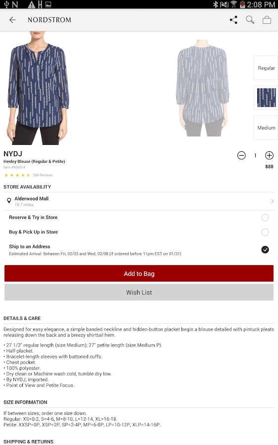 Nordstrom Fashion Amp Shopping Android Apps On Google Play