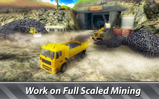 Mining Machines Simulator - drive trucks, get coal  screenshots 1