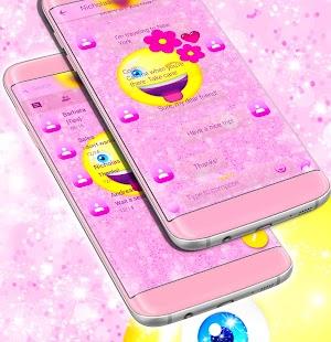 Emoji 2017HD SMS Téma - náhled