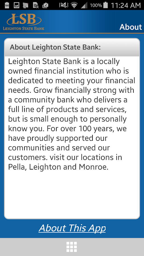 LSB Mobile Banking- screenshot
