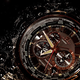 Bubbling watch by Senthil Damodaran - Products & Objects Technology Objects ( product, technology, watch, bubbling, objects )