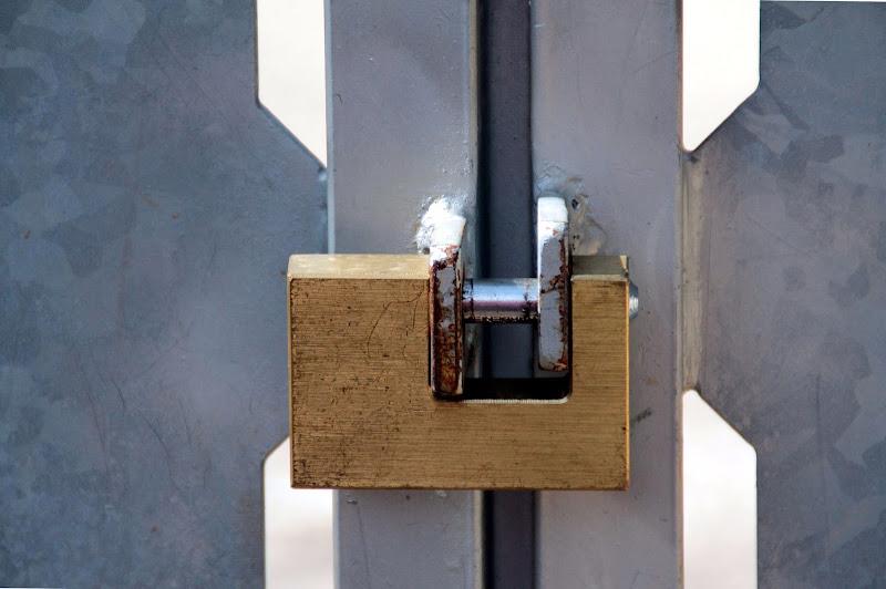 Cancello  Lucchetto di luigi86
