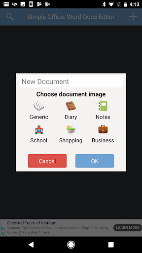 Simple Office: Word Docs Editor for Android screenshot 2