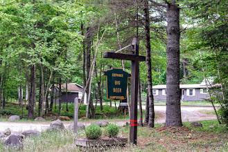 Photo: Entrance to Big Deer State Park