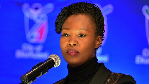 Stella Ndabeni-Abrahams was named minister of the newly merged ICT ministry in a Cabinet reshuffle.