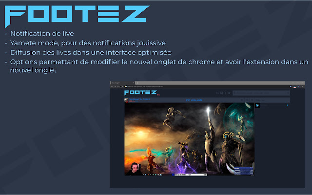 Footez Stream Extension