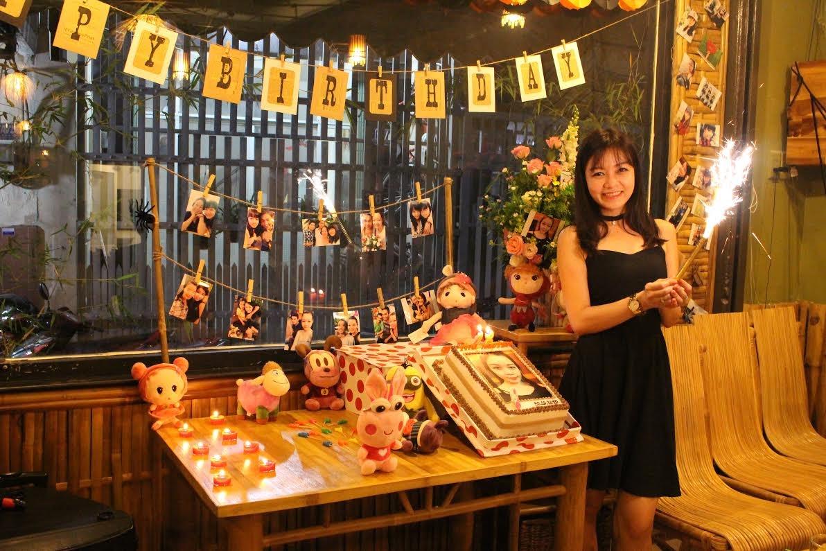 Tổ chức sinh nhật tại quán ăn ngon Bamboo