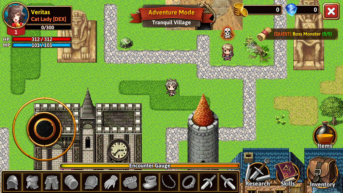 The Dark RPG- screenshot