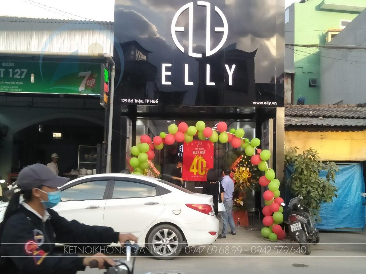 thiết kế shop túi xách Elly Huế 1