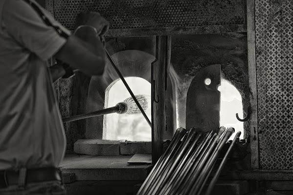 Maestri vetrai all'opera di Giancarlo Lava