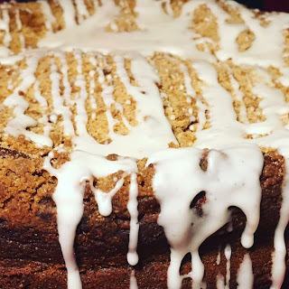 Gingerbread Coffee Cake.