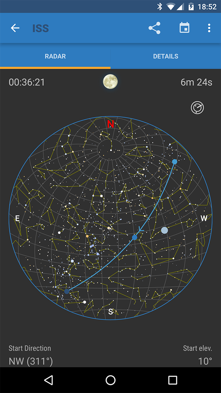 ISS Detector Pro Screenshot 1
