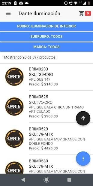 Dante Iluminación screenshot 2