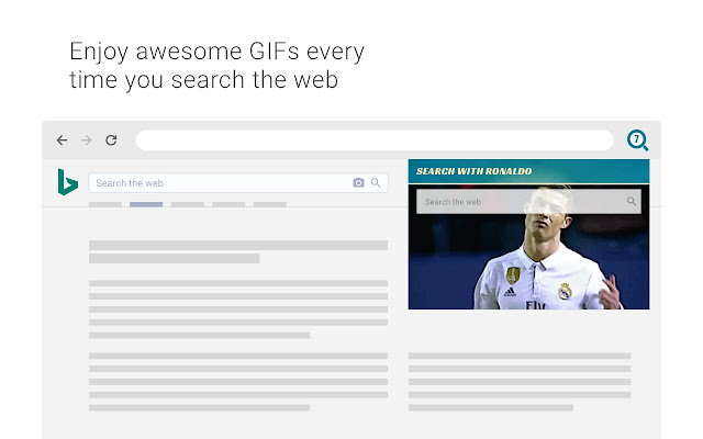 Search with Ronaldo