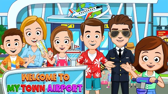 My Town : Airport MOD (Paid Content) 1
