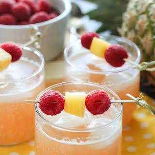Raspberry Pineapple Punch.