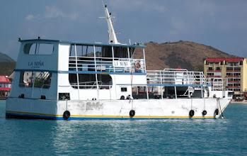 Photo: La Nina from SXM water taxi...