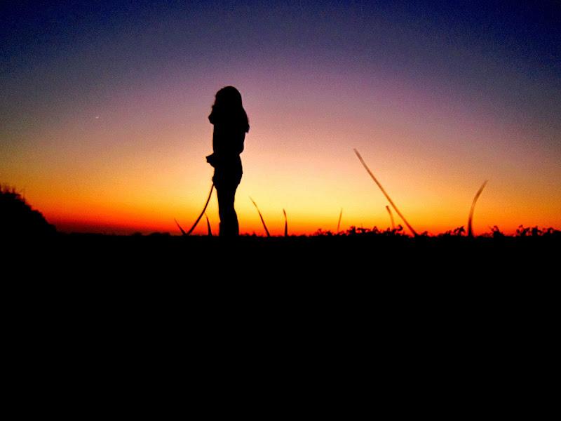 Solitaria con i pensieri serali di ytse_jam
