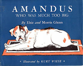 Photo: Amandus, The Dog Who Was Much Too Big.  Elsie And Morris Glenn (author), Macrae-Smith, 1939.