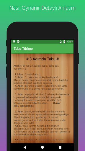 Tabu - 10.000 Kelime 1.2 screenshots 2