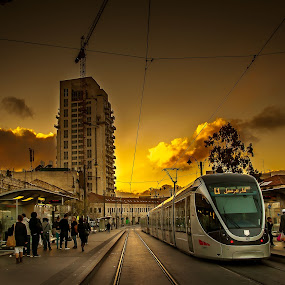 by Romel Pineda - Transportation Trains
