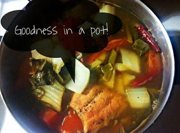 Salmon Sinigang Recipe