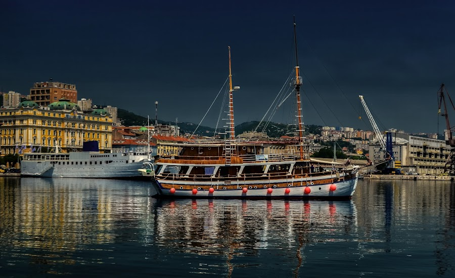by Ivica Dujic - Transportation Boats