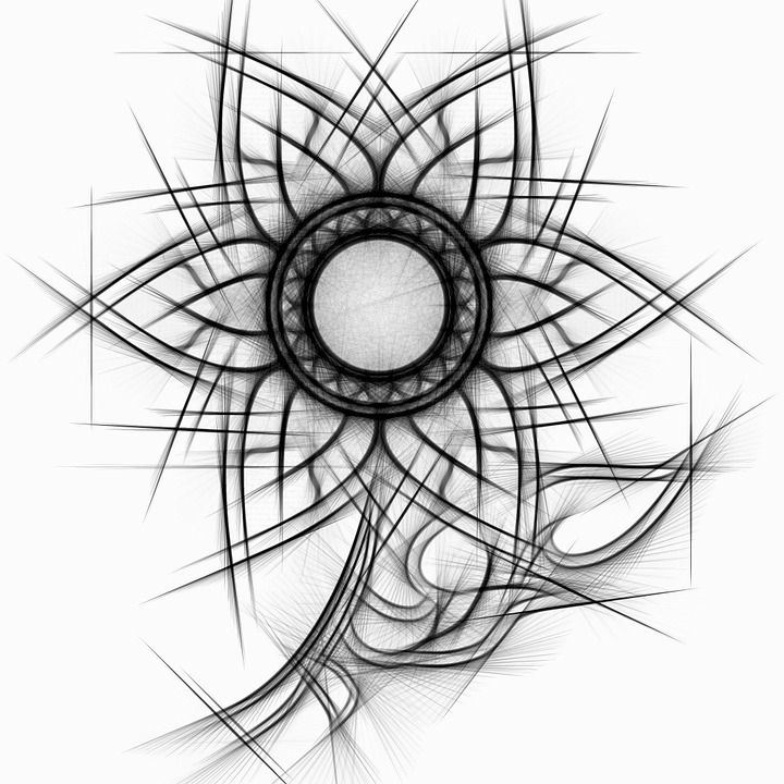 Abstract, Pencil, Drawing