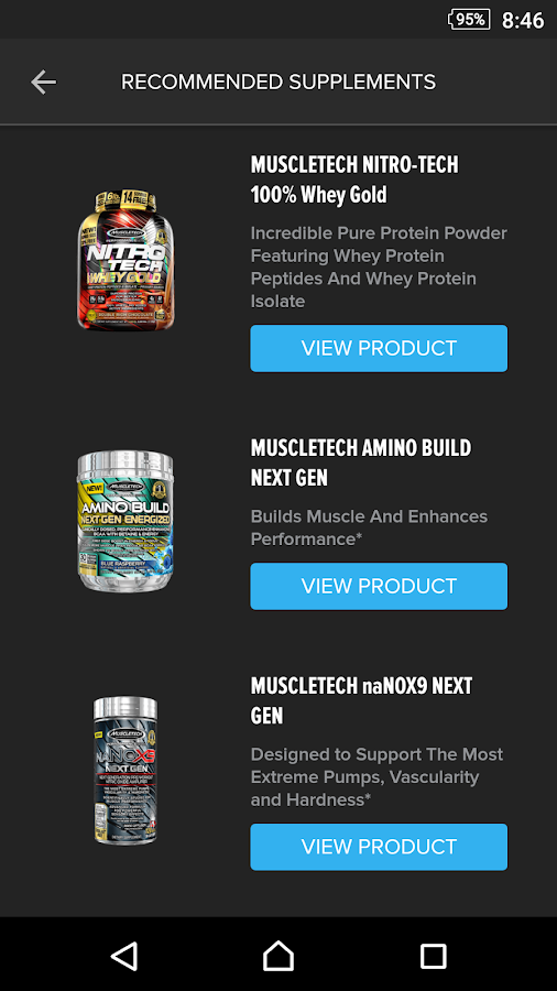 Rise & Grind by MuscleTech- screenshot